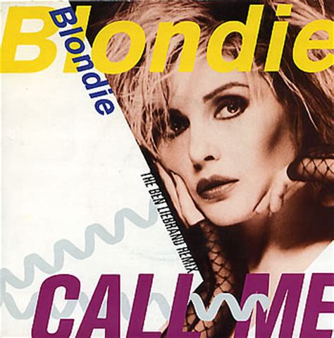 Testo Blondie by Anni 80 Blondie Call Me Musickr E