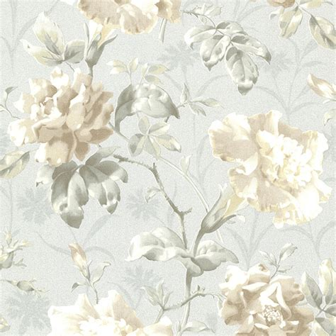 Decorative Stickers For Wall 2614 21000 light blue vintage floral juliana beacon