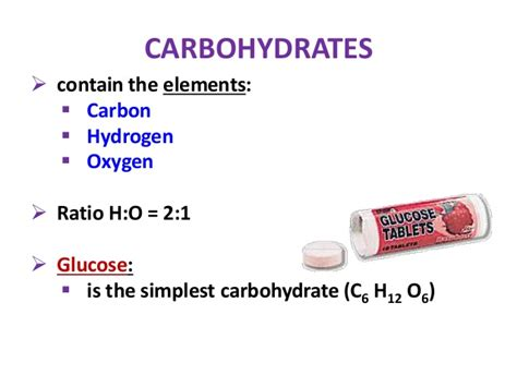 carbohydrates elements ratio biology form 4 chapter 4 chemical composition of the