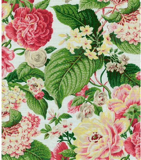 floral home decor fabric home decor print fabric waverly floral flourish spring