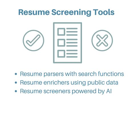 Resume Screening automated resume screening resume ideas