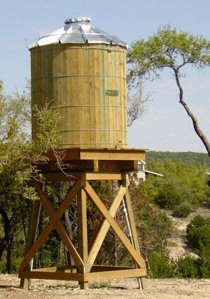 backyard water tower best 25 rainwater storage tanks ideas on pinterest