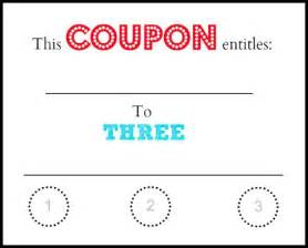 coupon maker template printable babysitting coupon clipart best