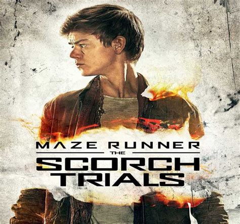 download film maze runner the scorch trials hd thomas brodie as newt in maze runner scorch trials poster