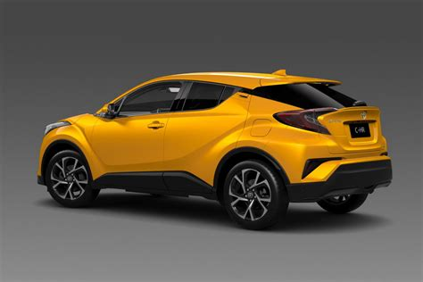 toyota chr check out the 2017 toyota c hr small crossover in fancier