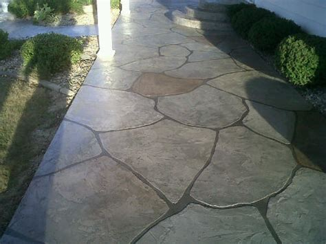 Painted Concrete Patio Ideas by Patio Concrete Designs Concrete Paint Concrete Stain