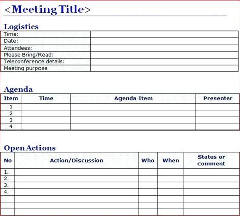 taking minutes in a meeting template taking minutes at a meeting template of word board