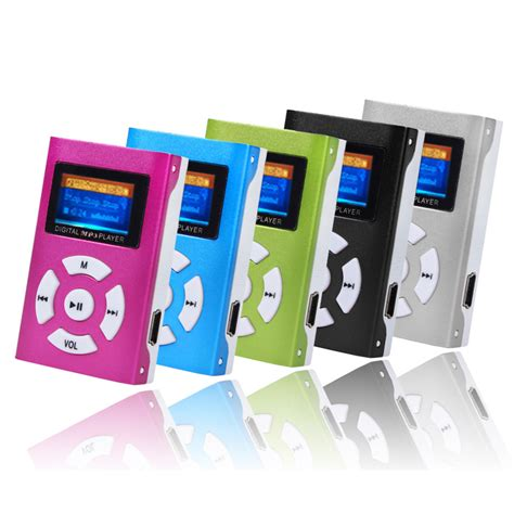 Lifier Usb Sd Card Player fashion usb mini mp3 player lcd screen support 32gb micro