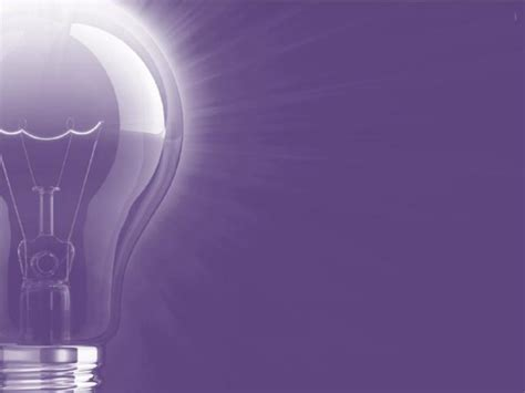 Lightbulb Purple Backgrounds Colors Engineering Grey Light Color Ppt Templates Free