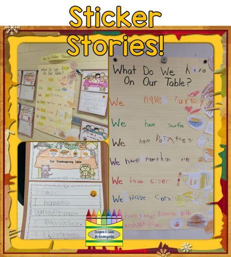 crayons amp cuties in kindergarten sticker stories
