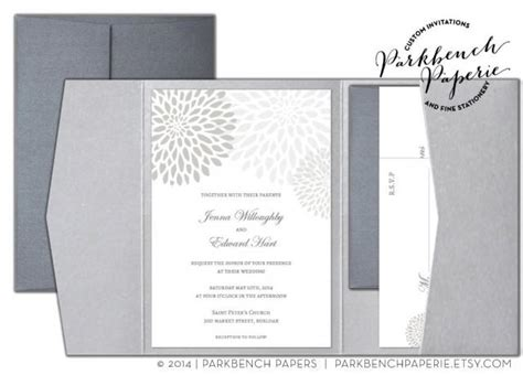 Editable Wedding Invitation Rsvp Card And Insert Card Pocket Fold Silver Mums Word Free Card Templates With Picture Insert