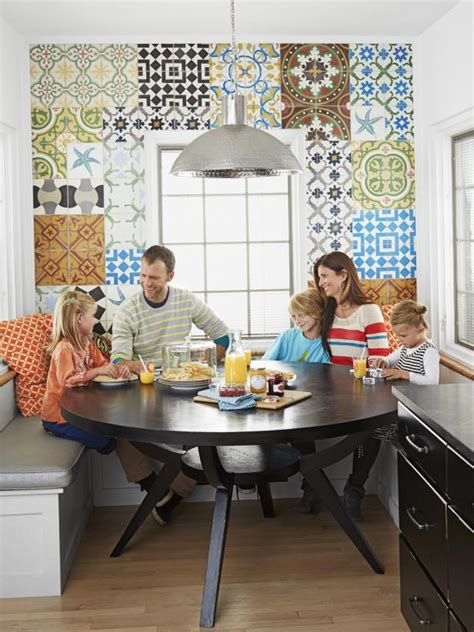 creating a family friendly kitchen hgtv family friendly kitchen with open shelving hgtv