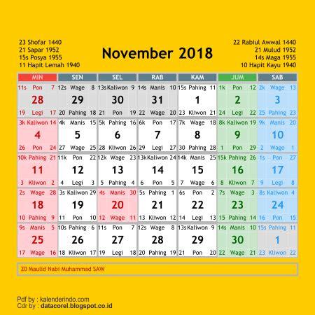 desain kalender abadi kalender 2018 cdr 12 bulan free download design corel