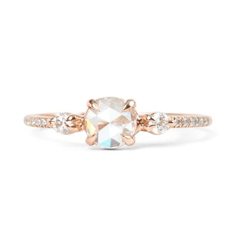 In Engagement Rings by Catbird Odette The Swan Supreme