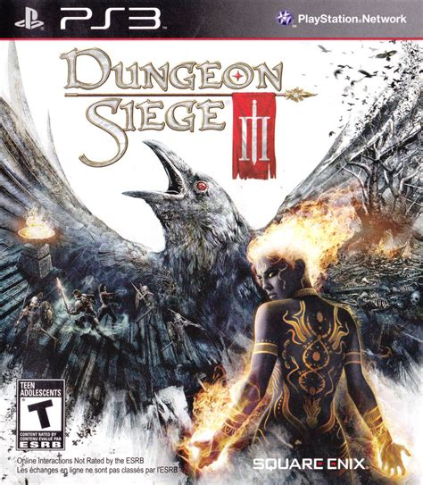 ps3 dungeon siege 3 dungeon siege iii 2011 playstation 3 box cover