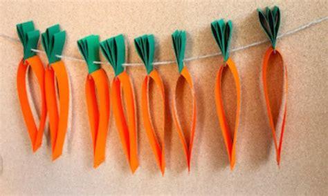 carrot craft for carrot garland kidspot