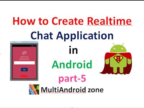 how to develop android apps how to create realtime chat application in android part5 shoutcafe