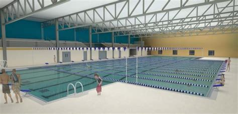 Mba Aquatic Center by Midland To Add S And S Swimming For