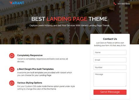 themes wordpress landing page theme directory free wordpress themes
