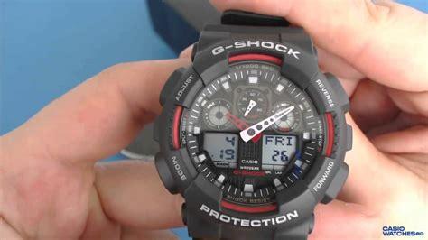 Casio Ga 100 1original casio g shock ga 100 1a4