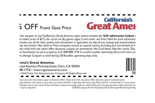 great america santa clara coupons