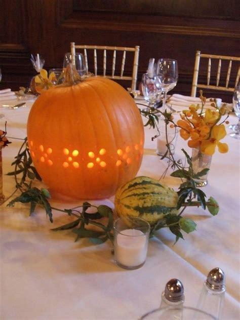 pumpkin wedding centerpieces 20 centerpiece ideas for fall weddings