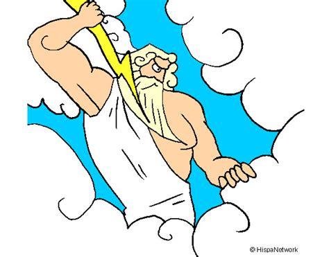 imagenes de el dios zeus para dibujar dibujo de dios zeus pintado por lmfao en dibujos net el