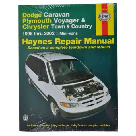 service manual manual lock repair on a 1998 chrysler town country haynes dodge caravan