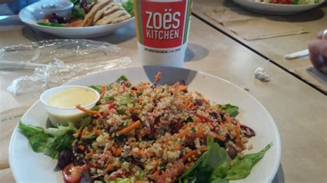 Zoes Kitchen Birkdale by Sign To The Left As You Enter The Dining Area Picture Of