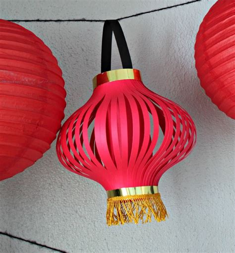 Paper Lanterns Craft - paper crafts diy paper crafts features lantern