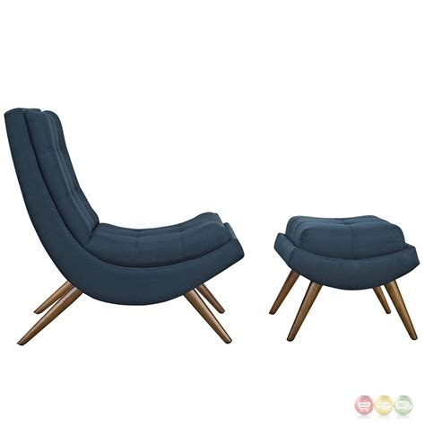 modern lounge chair and ottoman r modern upholstered lounge chair and ottoman with wood
