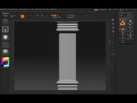 zbrush tutorial architectural techniques zbrush tutorial architectural techniques part 3 youtube