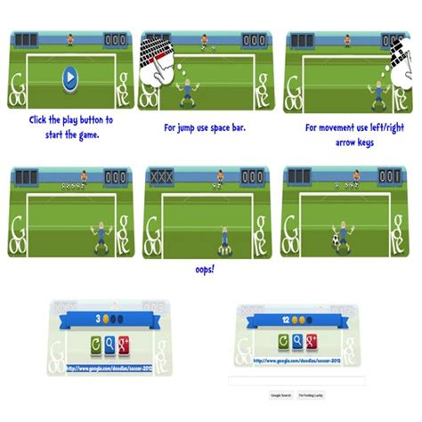 play doodle soccer 2012 play football soccer on doodle featuring quot