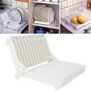 dish organizer for foldable dish plate drying rack organizer drainer plastic