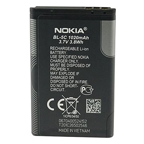 Battery Baterai Nokia Bl 5c Bl5c Original 99 Kualitas Bagus nokia bl 5c bl5c mobile phone battery compatible with nokia 1100 1101 1110 ebay