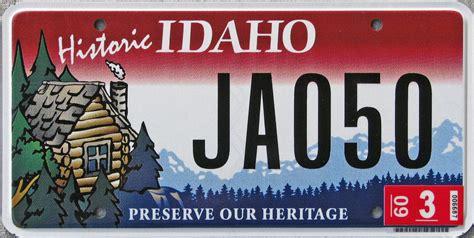 Idaho Vanity Plates idaho y2k