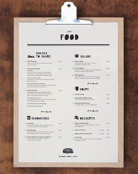 effective menu design and layout for restaurants restaurant menu design inspiration pinteres