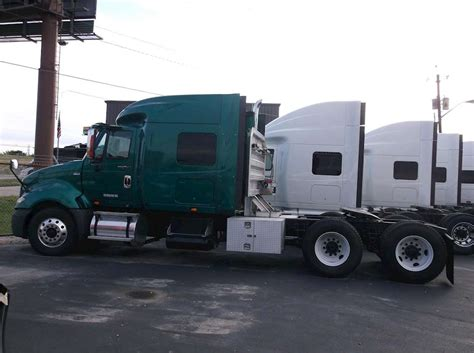 International Sleeper Trucks by 2012 International Prostar Sleeper Truck For Sale