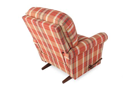 plaid recliner plaid patterned contemporary 37 rocker recliner mathis