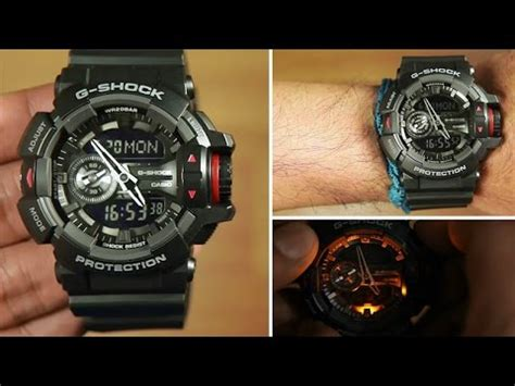 Casio G Shock Ga 400 Autolight how to toggle automatic light on g shock doovi