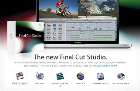 final cut pro ubuntu final cut studio gets 100 new features