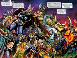 list of thor (marvel comics) supporting characters wikipedia