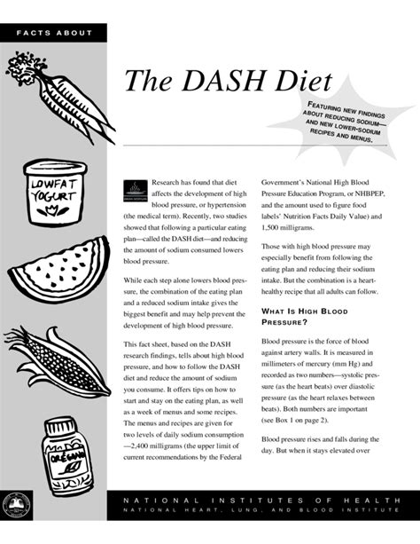 diet dash proven tips to reduce high blood pressure reduce sodium intake eat nutrient rich foods books sle dash diet free