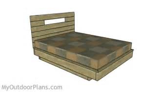 floating bed frame plans floating bed frame plans myoutdoorplans free