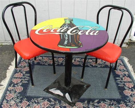 Coca Cola Table And Chairs by Coca Cola Table And Chairs Brass Lantern Antiques