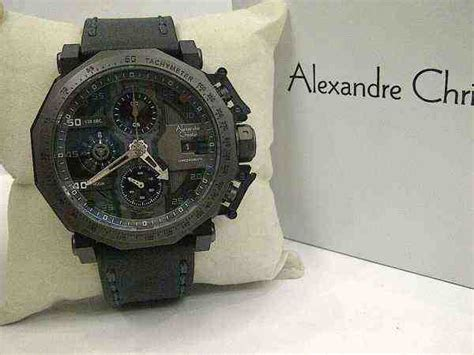 Alexandre Christie 6373 Mc Grey Black Leather Black Original jual alexandre christie ac 6373 black steel ring grey black leather baru jam tangan terbaru