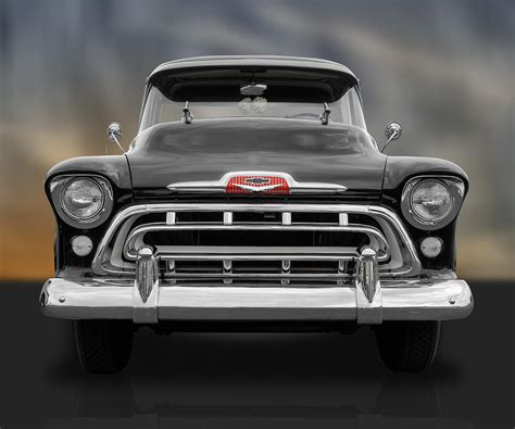 frank benz 1957 chevy cameo photograph by frank j benz