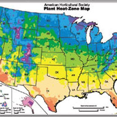 american plant zones map all about heat zones gardener s supply