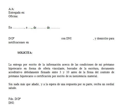 ejemplo de carta de oferta vinculante ejemplos de carta