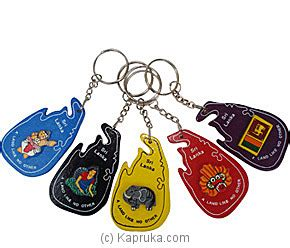 Batik Rajani wooden sri lankan key tags handicrafts164 from sri lanka at kapruka